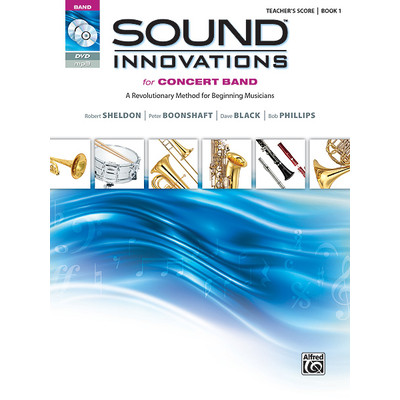 Sound Innovations for Concert Band - Book 1 with CD / DVD