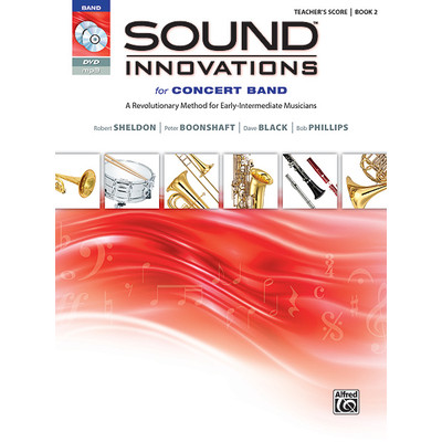 Sound Innovations for Concert Band - Book 2 with 3 CD/DVD