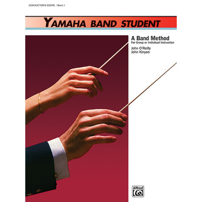 Yamaha Band Student Book 1 - Conductor - Alfred Music - 00-3921