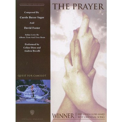 SheetMusic Prayer, The - Celine Dion & Andrea Bocelli - Alfred Music - 00-PV98168