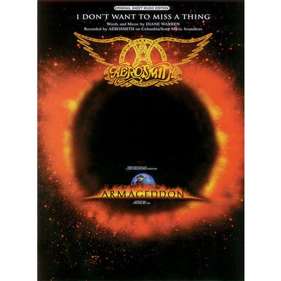 SheetMusic I Dont Want to Miss a Thing (Aerosmith) - Alfred Music - 00-PV9873