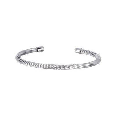 Stainless Steel Wire Cuff Bracelet