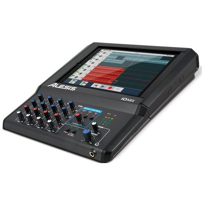Alesis iO Mix 4-Channel Audio Interface / Mixer for iPad - Alesis - IOMIXX110