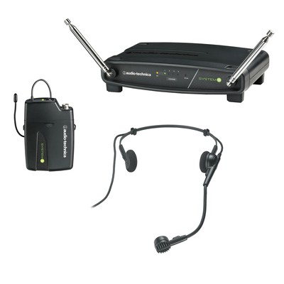 Audio-Technica ATW-901/H Receiver and UniPak Transmitter with Headworn Microphone - Audio-Technica - ATW901-H
