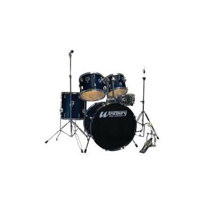 Drum Kit Westbury W565T-UT 20,10,12,14,SD Indigo Steel w/Hw