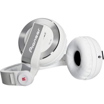 Pioneer HDJ-500-W DJ Headphones - White - Pioneer - HDJ-500-W (884938130707)