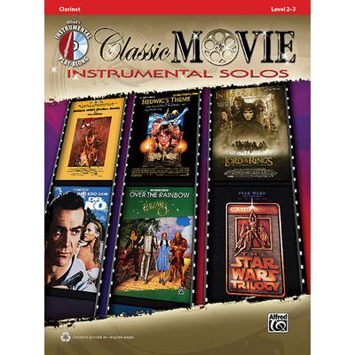 Music Classic Movie Instrumental Solos w/CD - Clarinet