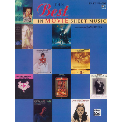 Music Best in Movie Sheet Music (EP) (RCM Pop 3-4-5-7) - Alfred Music - 00-AF9760A