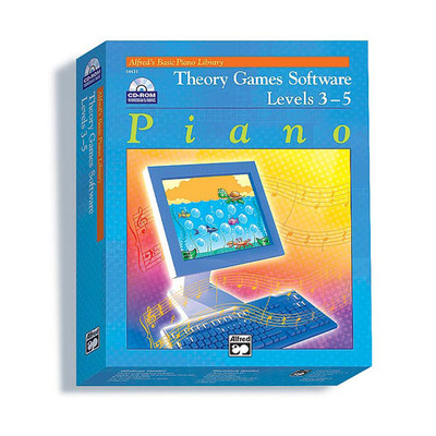 Theory Games for Windows/Macintosh (Version 2.0) - Levels 3, 4, 5 - Alfred Music - 00-14433