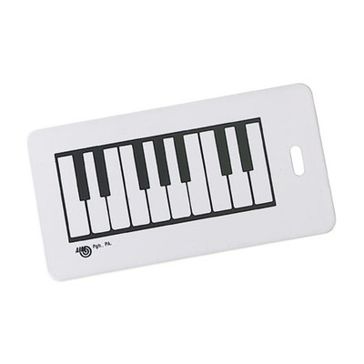 Plastic ID Tag - Keyboard - Aim - 1700