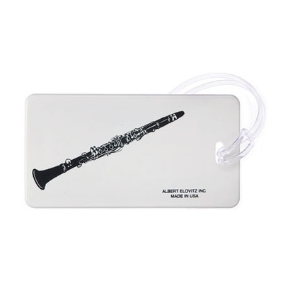 Plastic ID Tag - Clarinet - Aim - 1707