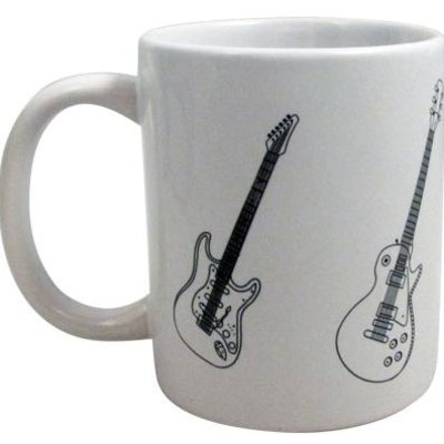 Mug Aim Guitars White - Aim - 1940