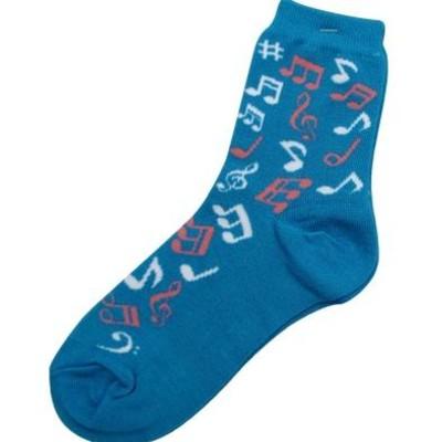 Socks Aim Notes Blue - Aim - 38054