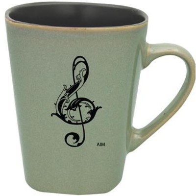 Mug Aim Square Bottom G-Clef Granite - Aim - 56156