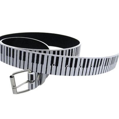 Keyboard Belt  - Black/White - Small - Aim - 6129S