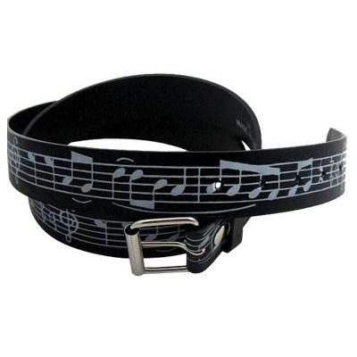 Belt with Staff - Black, Medium - Aim - 6134M