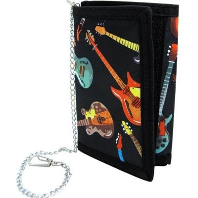 Wallet Aim Guitars Tri-Fold w/Chain - Aim - 6911