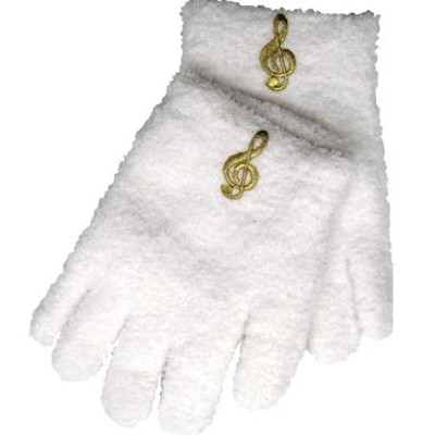 Gloves Aim Fuzzy G-Clef White - Aim - 9110