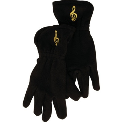 Gloves Aim Fleece G-Clef Black - Medium/Large - Aim - 9915ML