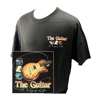 Way of Life with Guitars T-Shirt - Large - Aim - 10638L