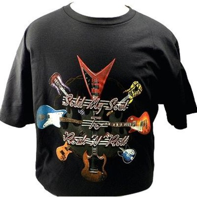 Sold My Soul To Rock N Roll T-Shirt - 2XL - Aim - 10642XXL