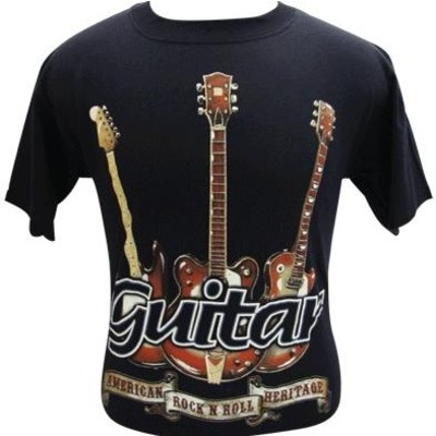 Rock N Roll Heritage T-Shirt - 2XL - Aim - 45504XXL