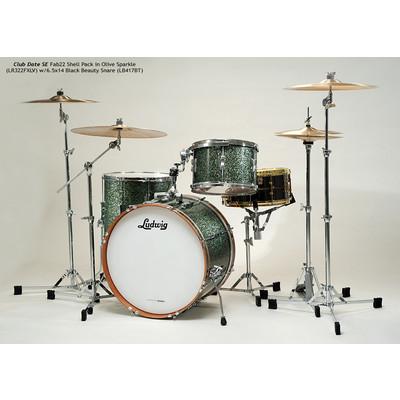 "Club Date SE Downbeat Shell Pack - 8""/20""/14"", Olive Sparkle - Ludwig - LR320DX LV"