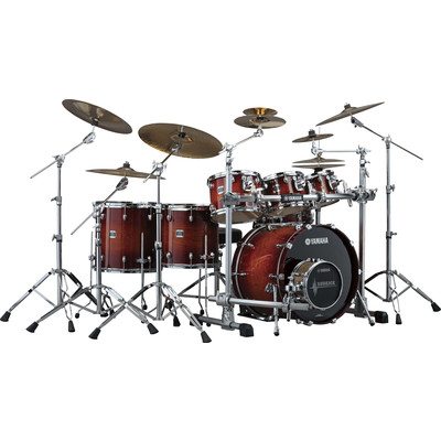 Drum Kit Yamaha NY2FS5S7 Oak Cust Amber Sunburst w/Hw - Yamaha - NY2FS5S7 AMS