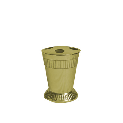 Moderne Gold Tooth Brush Holder