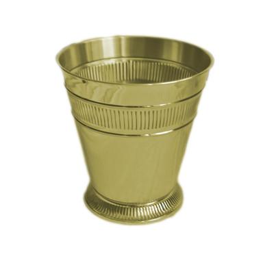 Moderne Gold Wastebasket