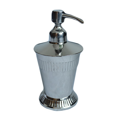 Moderne Silver Lotion Dispenser
