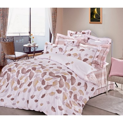 Rose Feuilles Duvet Cover Set