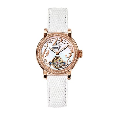 Ladies White Concord Ingersoll Watch