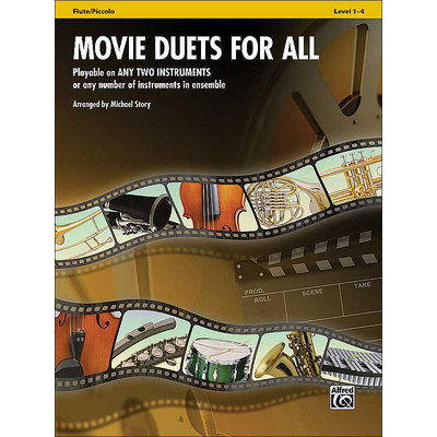 Music Movie Duets for All - Flute - Alfred Music - 00-33514