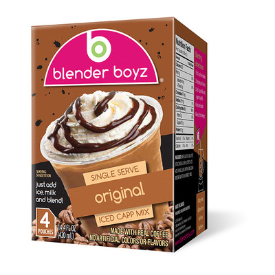 Blender Boyz Iced Cappuccino/Coffee Original Flavour - 24 Pack