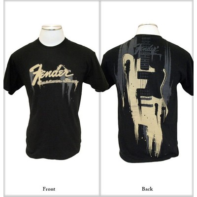 Fender Taking Over Me T Shirt - Black, Large - Fender - 9101020506
