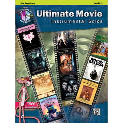 Music Ultimate Movie Instrumental Solos w/CD - Alto Sax