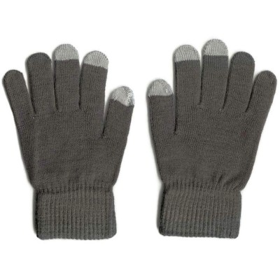 2 X Touchscreen Gloves - Grey Color