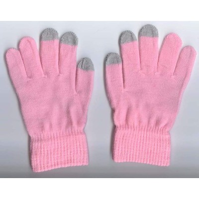 2 X Touchscreen Gloves - Pink Color