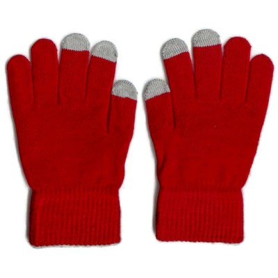 2 X Touchscreen Gloves - Red Color