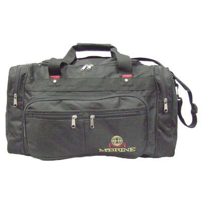25 Inch Duffle Bag With Circular Top Opening