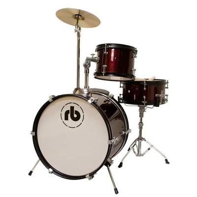 Drum Kit RB Drums RB-JR3-BK 3 Piece Black - RB Drums - RB-JR3-BK
