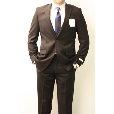 Calvin Klein slim fit suit (black)