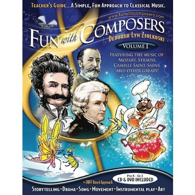 Fun with Composers Volume 1: Pre K to Grade 3 - Teacher Guide