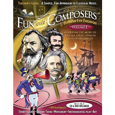 Fun with Composers Volume 1: Grade 3 to 7 - Teacher Guide
