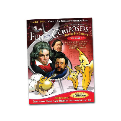 Fun with Composers Volume 2: Pre K to Grade 3 - Teacher Guide