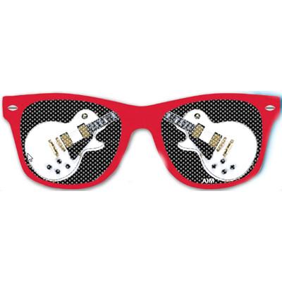 Glasses Aim Guitar Lens in White - Aim - 6816