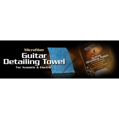 Cloth Music Nomad Edgeless Microfiber Guitar Detailing Towel - Music Nomad - GUITAR-DETAIL-TOWEL