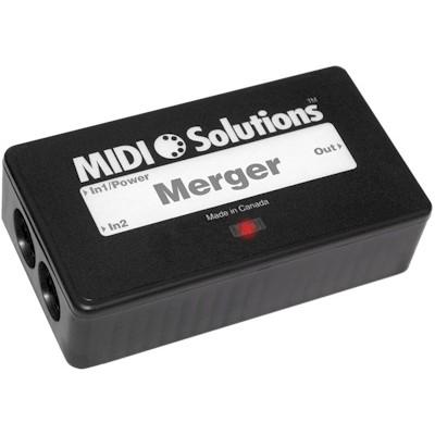 Interface Midi Solutions Merger 2 Input - Midi Solutions - MERGER