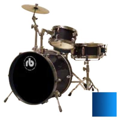 Drum Kit RB Drums RB-JR3-MBL 3 Piece Blue - RB Drums - RB-JR3-MBL